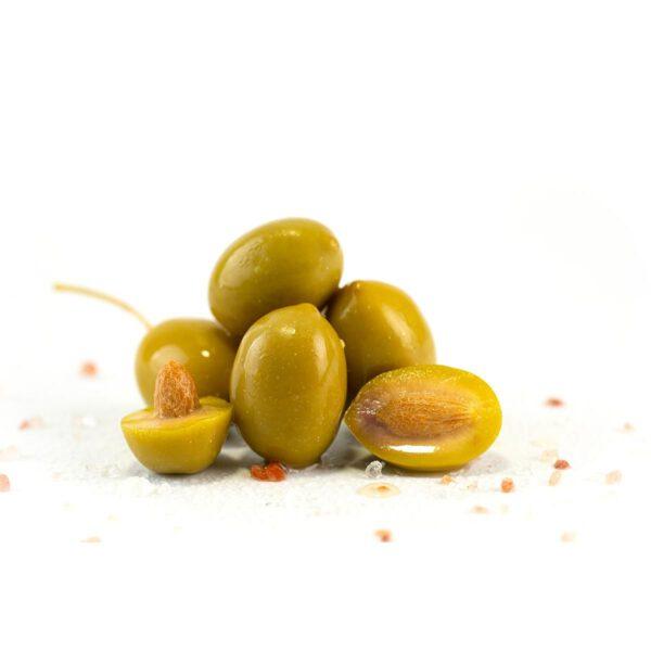 Крупные греческие бочковые оливки